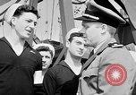 Image of American officer English Channel, 1944, second 17 stock footage video 65675051833