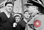 Image of American officer English Channel, 1944, second 18 stock footage video 65675051833