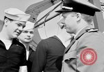 Image of American officer English Channel, 1944, second 20 stock footage video 65675051833