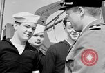 Image of American officer English Channel, 1944, second 21 stock footage video 65675051833