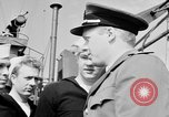 Image of American officer English Channel, 1944, second 23 stock footage video 65675051833
