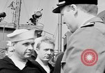 Image of American officer English Channel, 1944, second 24 stock footage video 65675051833