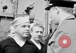 Image of American officer English Channel, 1944, second 26 stock footage video 65675051833