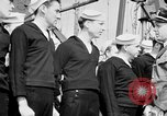 Image of American officer English Channel, 1944, second 27 stock footage video 65675051833