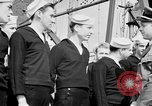 Image of American officer English Channel, 1944, second 28 stock footage video 65675051833