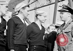 Image of American officer English Channel, 1944, second 30 stock footage video 65675051833