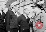 Image of American officer English Channel, 1944, second 31 stock footage video 65675051833