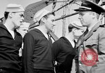 Image of American officer English Channel, 1944, second 33 stock footage video 65675051833