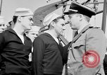 Image of American officer English Channel, 1944, second 34 stock footage video 65675051833