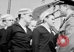 Image of American officer English Channel, 1944, second 35 stock footage video 65675051833