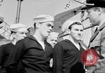 Image of American officer English Channel, 1944, second 37 stock footage video 65675051833