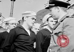 Image of American officer English Channel, 1944, second 38 stock footage video 65675051833
