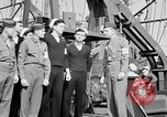 Image of American officer English Channel, 1944, second 39 stock footage video 65675051833