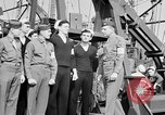 Image of American officer English Channel, 1944, second 40 stock footage video 65675051833
