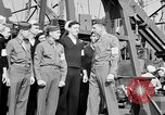 Image of American officer English Channel, 1944, second 41 stock footage video 65675051833