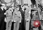 Image of American officer English Channel, 1944, second 42 stock footage video 65675051833