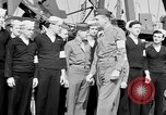 Image of American officer English Channel, 1944, second 44 stock footage video 65675051833