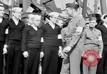Image of American officer English Channel, 1944, second 45 stock footage video 65675051833