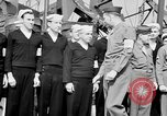 Image of American officer English Channel, 1944, second 46 stock footage video 65675051833