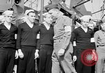 Image of American officer English Channel, 1944, second 48 stock footage video 65675051833