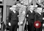 Image of American officer English Channel, 1944, second 49 stock footage video 65675051833