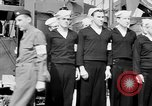 Image of American officer English Channel, 1944, second 50 stock footage video 65675051833