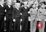 Image of American officer English Channel, 1944, second 53 stock footage video 65675051833