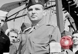 Image of American officer English Channel, 1944, second 54 stock footage video 65675051833