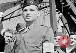 Image of American officer English Channel, 1944, second 55 stock footage video 65675051833