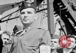 Image of American officer English Channel, 1944, second 56 stock footage video 65675051833