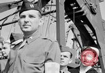 Image of American officer English Channel, 1944, second 60 stock footage video 65675051833