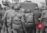 Image of US troops aboard LST United Kingdom, 1944, second 58 stock footage video 65675051841