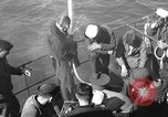Image of U.S. sailors test fire hose on an LST Portland England United Kingdom, 1944, second 5 stock footage video 65675051842