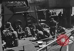 Image of U.S. sailors test fire hose on an LST Portland England United Kingdom, 1944, second 44 stock footage video 65675051842