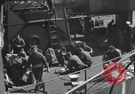 Image of U.S. sailors test fire hose on an LST Portland England United Kingdom, 1944, second 48 stock footage video 65675051842