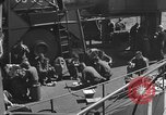 Image of U.S. sailors test fire hose on an LST Portland England United Kingdom, 1944, second 50 stock footage video 65675051842