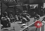 Image of U.S. sailors test fire hose on an LST Portland England United Kingdom, 1944, second 51 stock footage video 65675051842