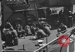 Image of U.S. sailors test fire hose on an LST Portland England United Kingdom, 1944, second 52 stock footage video 65675051842