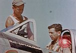 Image of P-47 pilots and crew chiefs of USAAC 57th Fighter Group Corsica France, 1944, second 17 stock footage video 65675051884