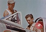 Image of P-47 pilots and crew chiefs of USAAC 57th Fighter Group Corsica France, 1944, second 19 stock footage video 65675051884