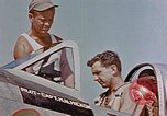 Image of P-47 pilots and crew chiefs of USAAC 57th Fighter Group Corsica France, 1944, second 21 stock footage video 65675051884