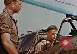 Image of P-47 pilots and crew chiefs of USAAC 57th Fighter Group Corsica France, 1944, second 31 stock footage video 65675051884
