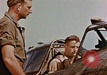Image of P-47 pilots and crew chiefs of USAAC 57th Fighter Group Corsica France, 1944, second 32 stock footage video 65675051884