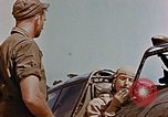 Image of P-47 pilots and crew chiefs of USAAC 57th Fighter Group Corsica France, 1944, second 45 stock footage video 65675051884