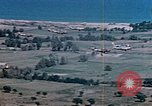 Image of aircraft P 47s Corsica France Alto Air Base, 1944, second 15 stock footage video 65675051885