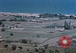 Image of aircraft P 47s Corsica France Alto Air Base, 1944, second 17 stock footage video 65675051885