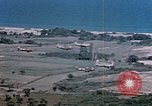 Image of aircraft P 47s Corsica France Alto Air Base, 1944, second 18 stock footage video 65675051885