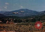 Image of aircraft P 47s Corsica France, 1944, second 9 stock footage video 65675051888