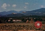 Image of aircraft P 47s Corsica France, 1944, second 10 stock footage video 65675051888