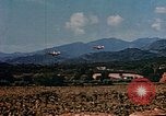 Image of aircraft P 47s Corsica France, 1944, second 11 stock footage video 65675051888